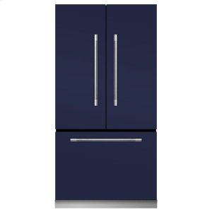MarvelMercury French Door Counter-Depth Refrigerator - Mercury French Door Refrigerator - Gloss Black