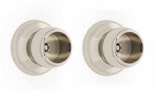 Royale Shower Rod Brackets A6646 - Polished Nickel