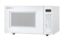 1.1 cu. ft. 1000W Sharp White Countertop Microwave (SMC1131CW) Product Image
