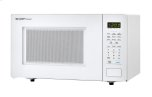 1.1 cu. ft. 1000W  White Countertop Microwave