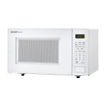 Sharp1.1 cu. ft. 1000W Sharp White Countertop Microwave