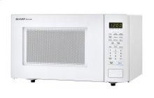 1.1 cu. ft. 1000W Sharp White Countertop Microwave (SMC1131CW)