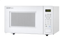 1.1 cu. ft. 1000W Sharp White Countertop Microwave
