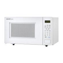 1.1 cu. ft. 1000W Sharp White Countertop Microwave