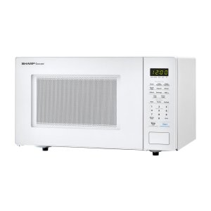 Sharp Appliances1.1 cu. ft. 1000W Sharp White Countertop Microwave