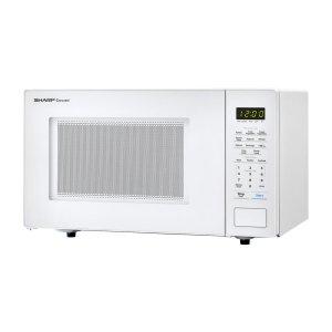 Sharp1.1 cu. ft. 1000W Sharp White Countertop Microwave