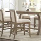 Sophie - Upholstered Counter Stool - Natural Finish Product Image