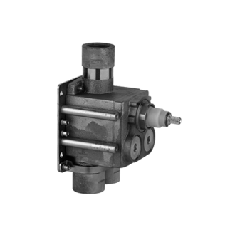 In-wall rough valve only for high flow thermostatic mixer 39558