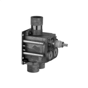 In-wall rough valve only for high flow thermostatic mixer 39558 Product Image