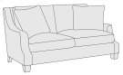 Larson Loveseat in Mocha (751) Product Image