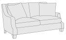Larson Loveseat in Mocha (751) Product Image