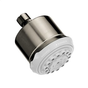 Brushed Nickel Clubmaster 3-Jet Showerhead, 2.5 GPM