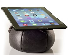 The Saddle Ipad Holder, Leather, Graphite