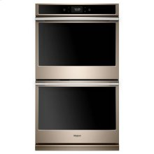 Whirlpool® 10.0 cu. ft. Smart Double Wall Oven with True Convection Cooking - Sunset Bronze