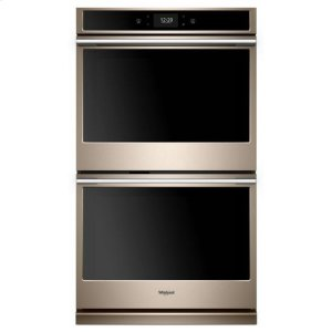 WHIRLPOOLWhirlpool(R) 10.0 cu. ft. Smart Double Wall Oven with True Convection Cooking - Sunset Bronze