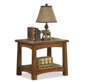 Craftsman Home Side Table Americana Oak finish