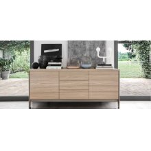 Sideboard with open compartment