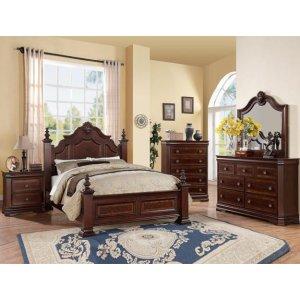 Crown Mark B8300 Charlotte Queen Bedroom