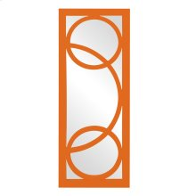 Dynasty Mirror - Glossy Orange