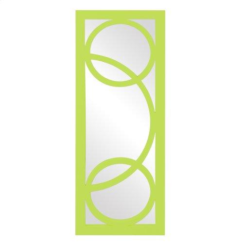 Dynasty Mirror - Glossy Green