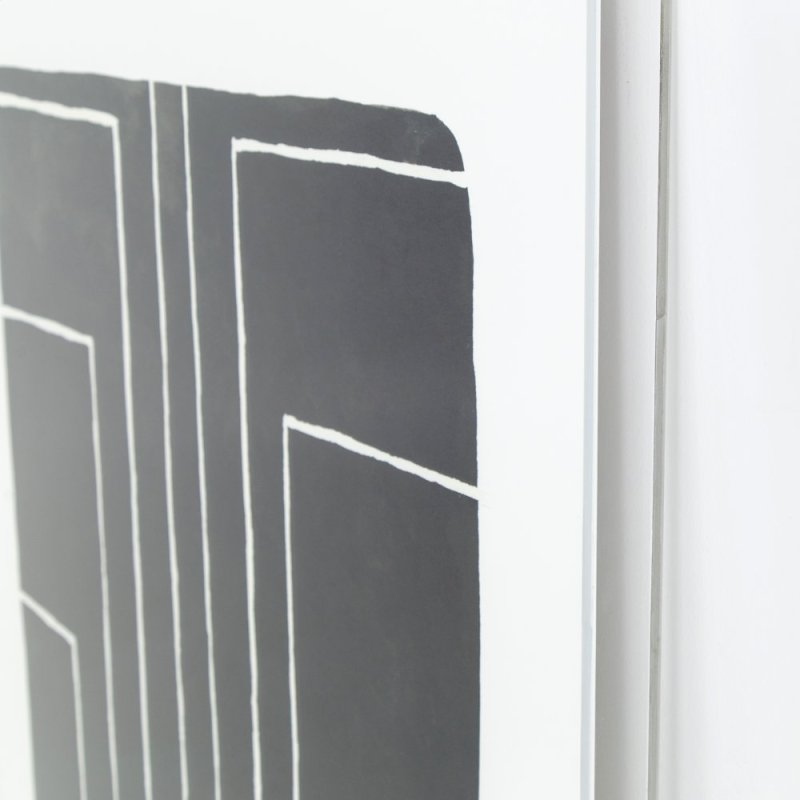 Vertigo Print Shadow Box