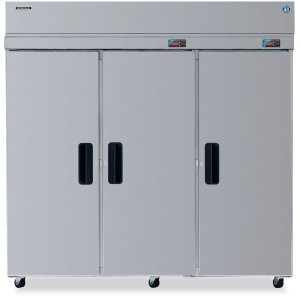 HoshizakiDual Temp Cabinet, Three Section Upright, Full Stainless Door