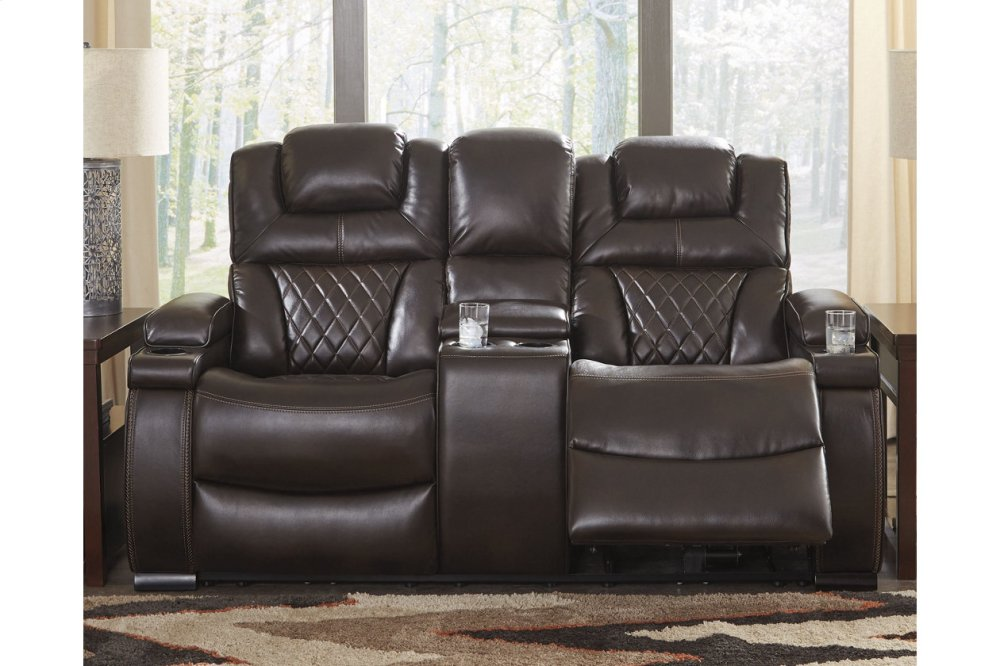 7540718ashley Furniture Pwr Rec Loveseat Con Adj Hdrst Westco Home