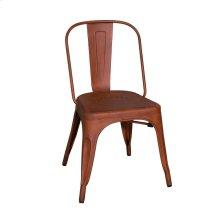 Bow Back Side Chair - Orange