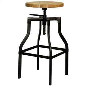Cite Industrial Stool, Gunmetal
