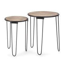 Rosana Accent Tables - Set of 2