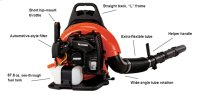 ECHO PB-755SH Powerful Backpack Leaf Blower