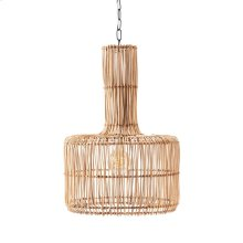 Acerra Woven Wicker Pendant Light
