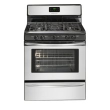 Frigidaire 30'' Freestanding Gas Range (This is a Stock Photo, actual unit (s) appearance may contain cosmetic blemishes. Please call store if you would like actual pictures). This unit carries our 6 month warranty, MANUFACTURER WARRANTY and REBATE NOT VALID with this item. ISI 31169