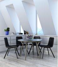 Mira/Buren 5pc Dining Set Product Image