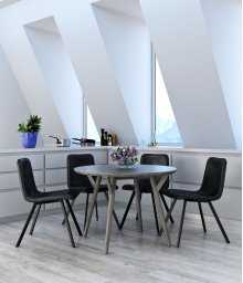 Mira/Buren 5pc Dining Set