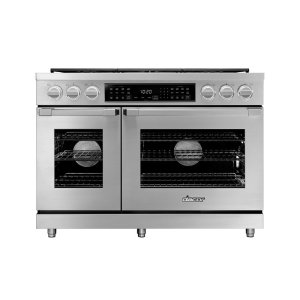 "Dacor48"" Heritage Dual Fuel Pro Range, DacorMatch, Natural Gas"