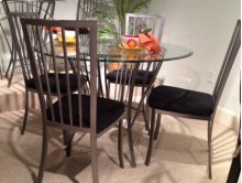 Galaxy Silver Dinette Table