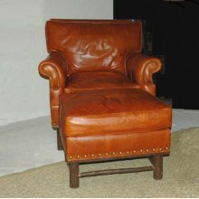 573 Harrison Club Chair and 574 Harrison Ottoman