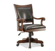 Castlewood Desk Chair Warm Tobacco finish
