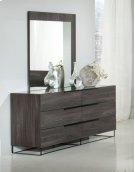 Nova Domus Enzo Italian Modern Grey Oak Mirror Product Image