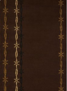 Affinity Barb Wire Brown Rugs