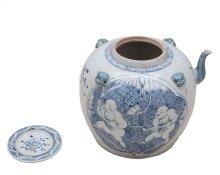 Blue & White Tea Serving Pot