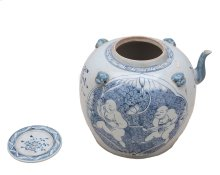 Blue & White Tea Serving Pot