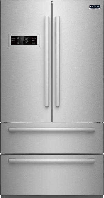 Zfdm2185rs Crosley Crosley Professional French Door Bottom Mount Stainless Stainless Apartment Supply By Feder S Distributors