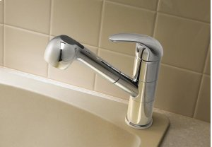 Blanco Torino With Pullout Spray - Polished Chrome