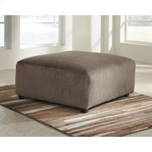 Signature Design by Ashley Jessa Place Oversized Ottoman in Dune Fabric