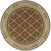 Ashton House As03 Mink Round Rug 7'5'' X 7'5''