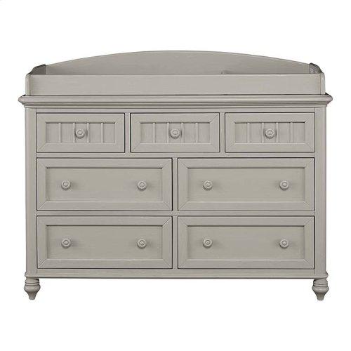 Oyster Grey Nantucket Dresser