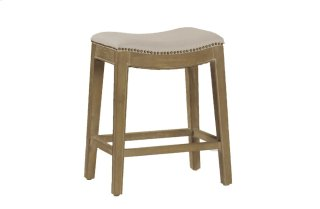 "Vivian 24"" Counter Stool - Natural"