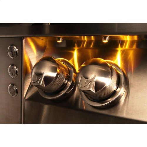 """56"""" Standard Grill with Side Burner Built-In"""